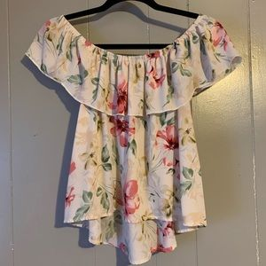 Hollister off the shoulder top. Size small